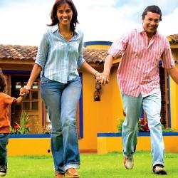 La felicità di genitori influisce sui figli