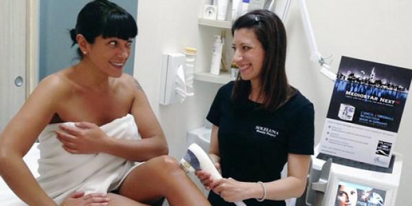 Laura Barriales, Ana Laura Ribas, Barbara Snellenburg, Melita Toniolo: d'estate le vip impazziscono per l' epilazione. meglio se con il laser a diodo